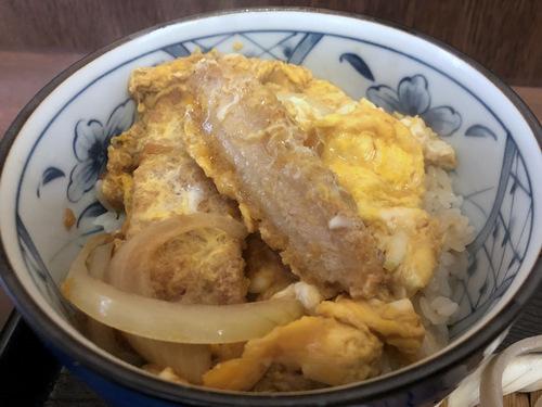 うちば@品川シーサイド (9)ミニかつ丼セット太打ち麺790.jpg