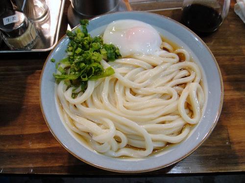 おにやんま@五反田 (3) 冷「大盛」温玉ぶっかけ 430円.JPG