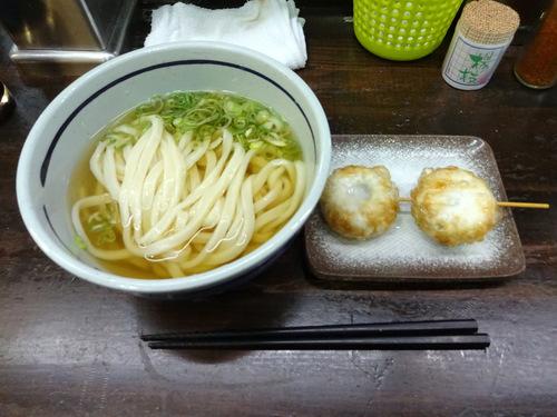 おにやんま@青物横丁 (6)冷やかけ並330ニラ饅頭170.JPG