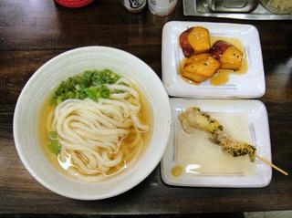 おにやんま@青物横丁(4)並ひやかけ290北海道直送つぶ貝のおでん150なると金時大学芋100.JPG