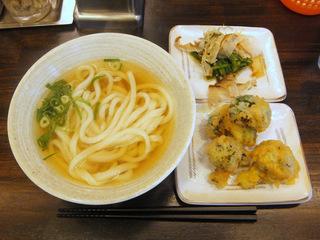 おにやんま@青物横丁(6)温並290ほうれん草のおひたし150ブロッコリー天ぷら100.JPG