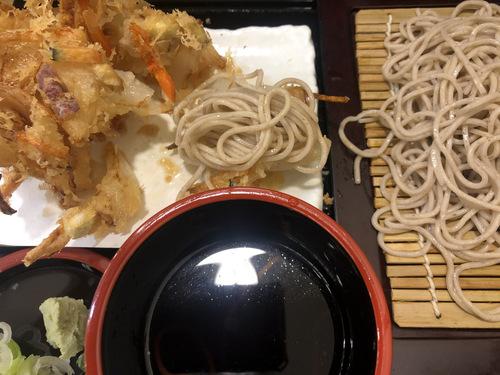 かき天@新橋 (13)かき揚げ蕎麦冷480.jpg