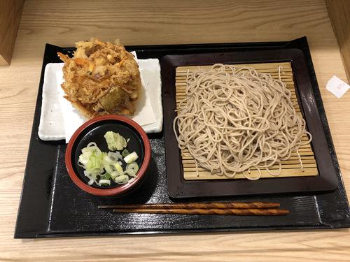 かき天@新橋 (9)かき揚げ蕎麦冷480.jpg