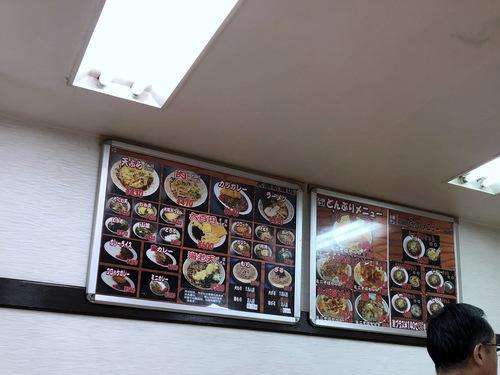 かしわや武蔵新城店@武蔵新城 (2)ソースカツ丼ミニそばセット700.jpg