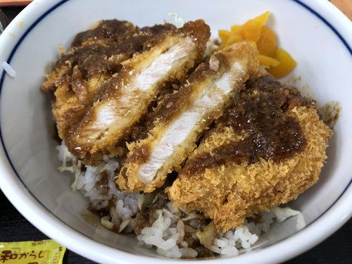 かしわや武蔵新城店@武蔵新城 (6)ソースカツ丼ミニそばセット700.jpg
