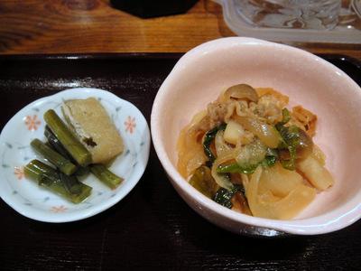 かすうどんてっちゃん@中野新橋(4)かすうどんセット(ミニどて丼)800.JPG