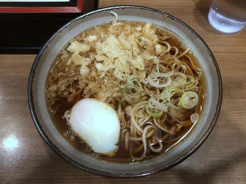 かめや@神田 (7)たぬきそば350玉子60.jpg