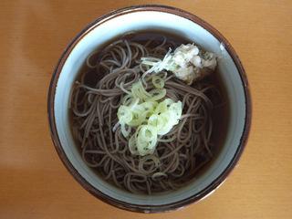 しなの麺工房@長野県(4)深大寺そば.JPG
