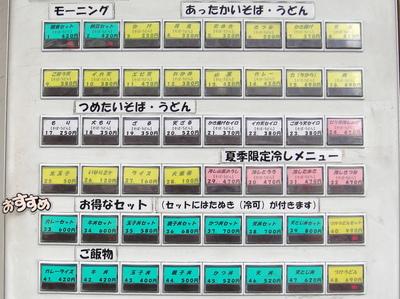 じょうなん亭@五反田(1)ごぼう天そば380.JPG