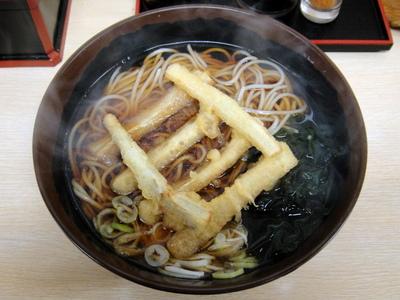 じょうなん亭@五反田(4)ごぼう天そば380.JPG