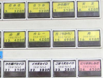 じょうなん亭@五反田(4)冷し山菜おろしそば470ごぼう天130.JPG