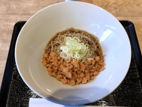 そばだ家@渋谷 (10)桜えび揚げ玉ぶっかけ十割蕎麦(冷)650.jpg