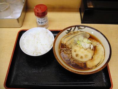 そばよし@三越前(6)野菜天そば410小ライス70.JPG