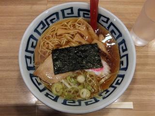 そば新@京急蒲田(4)煮干しラーメン380.JPG