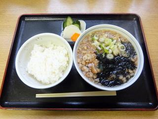 ちどり@青物横丁(3)たぬきつそばセット450.JPG