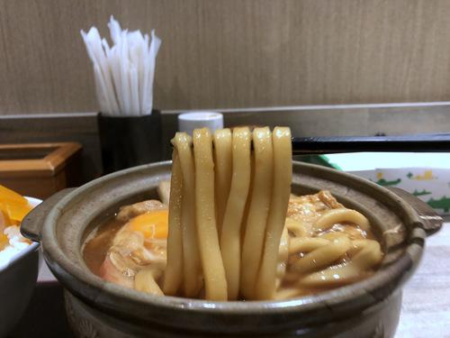 でら打ち@大森 (17)味噌煮込みうどん柔らかい麺890半熟煮玉子210半ライス150.jpg
