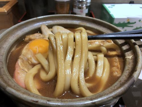 でら打ち@大森 (19)味噌煮込みうどん柔らかい麺890半熟煮玉子210半ライス150.jpg