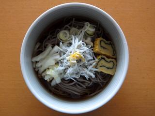 みうら食品@山形県(1)やまいもそばしらすそば.JPG