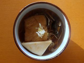 みうら食品@山形県(1)やまいもそば+創味_おでんそば.JPG