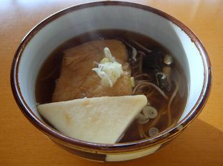 みうら食品@山形県(2)やまいもそば+創味_おでんそば.JPG