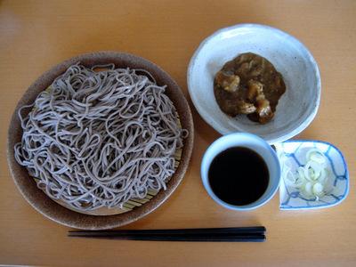 やまいもそば@みうら食品 (1) 次の日カレーつけそば-1.JPG