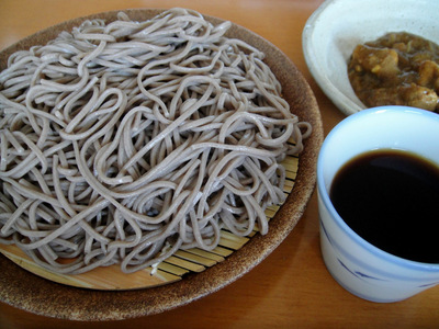 やまいもそば@みうら食品 (2) 次の日カレーつけそば-1.JPG