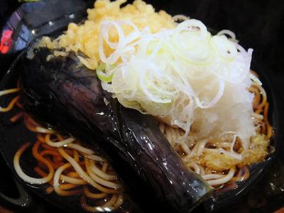 よもだそば@東京(10)揚げ茄子おろしそば420揚げたまごはん280.JPG