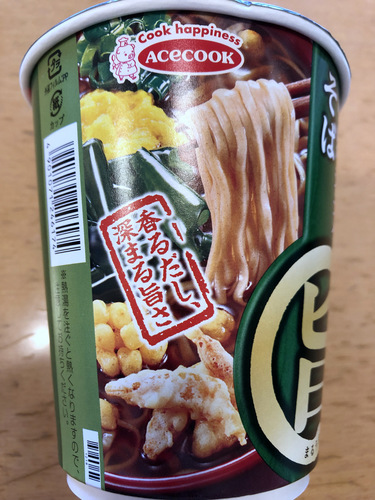 カナヤ食品@千葉旭工場(エースコック) (3)小海老天そば.jpg