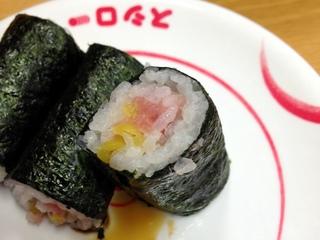 スシロー@京急川崎(2)肉うどん280まぐたく100.JPG