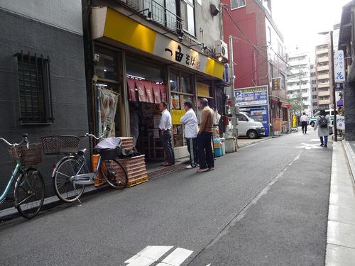 一由そば@日暮里 (1) お土産たぬき60.JPG