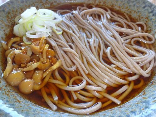 亀山製麺所@山形県寒河江 (9)ふる里のそば慈恩寺.JPG
