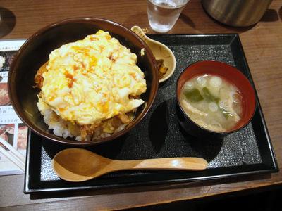 五反田おかめ@大崎広小路 (4) かき玉丼 750円.JPG