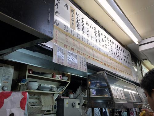 信濃路@大森 (4)たぬきそば290玉子60ライス小160.jpg
