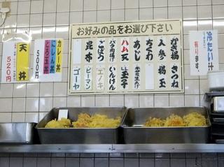 信越そば@外苑前(4)カレー丼500ハム天80.JPG