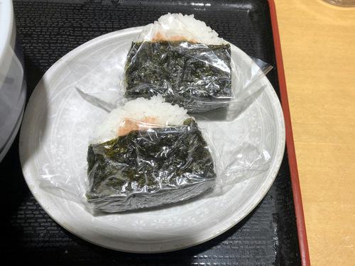 吉そば@銀座本店 (9)おにぎりセット540そばコロッケ.jpg