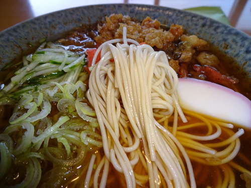 城北麺工@山形県 (8)低糖質そば378.JPG