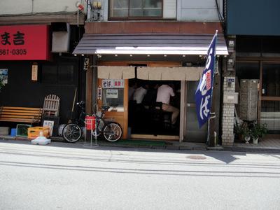 堀留屋@人形町(6)梅おろしそば950少なめ細麺.JPG