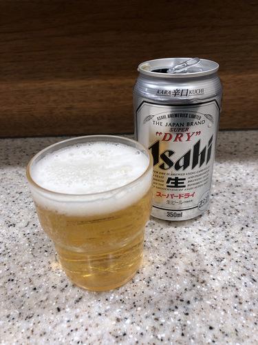 富士そば浜松町店@大門 (6)カレーカツ丼セット温そば790紅生姜天120缶ビール300.jpg