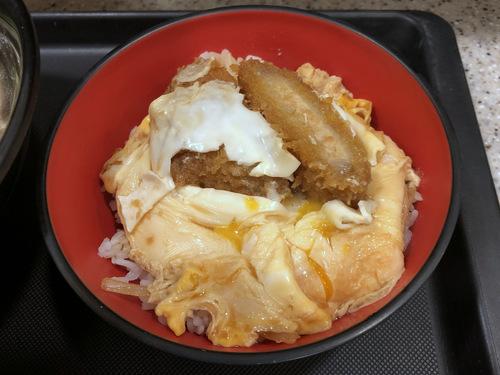 富士そば浜松町店@大門 (6)肉骨茶そば580ミニかつ丼270.jpg