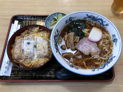 尾張屋@大井町 (7)カツ丼ラーメンセット1000ラーメンのみは650.jpg
