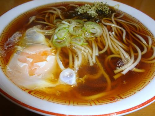 山形県産食品@酒田市飛島 (9)飛魚そば.JPG