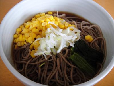 山芋そば@みうら食品+ミツカン コーンそば (2).JPG