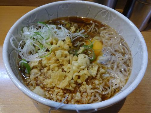 彩彩@大井町 (3)たぬき玉そば450.JPG