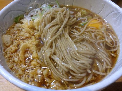彩彩@大井町 (5)たぬき玉そば450.JPG