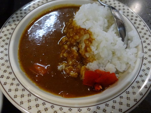 後楽そば@五反田 (12)ミニカレーセット(焼きそば)600.JPG