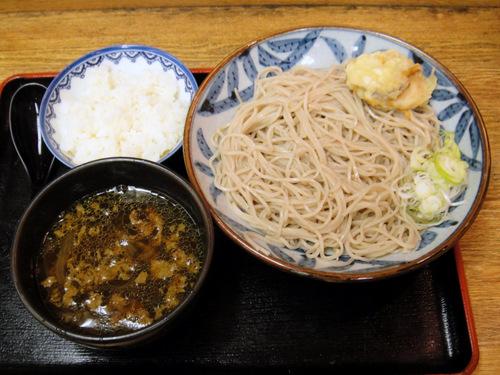 政吉そば@四谷 (2) 冷カレーつけ 500円.JPG