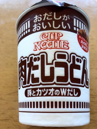 日清食品@大阪府 (1)CUP NOODLE 肉だしうどん.jpg