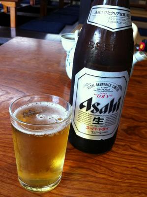 松島茶店@大宰府 (12)ビール中瓶580.JPG