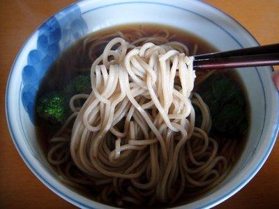 桝田食品@長野県(5)信州産そば粉でつくった生蕎麦.JPG
