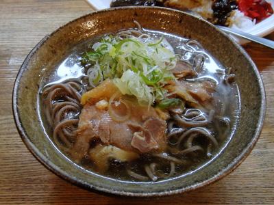 河北や@小川町(5)ミニカレー肉そばセット680.JPG
